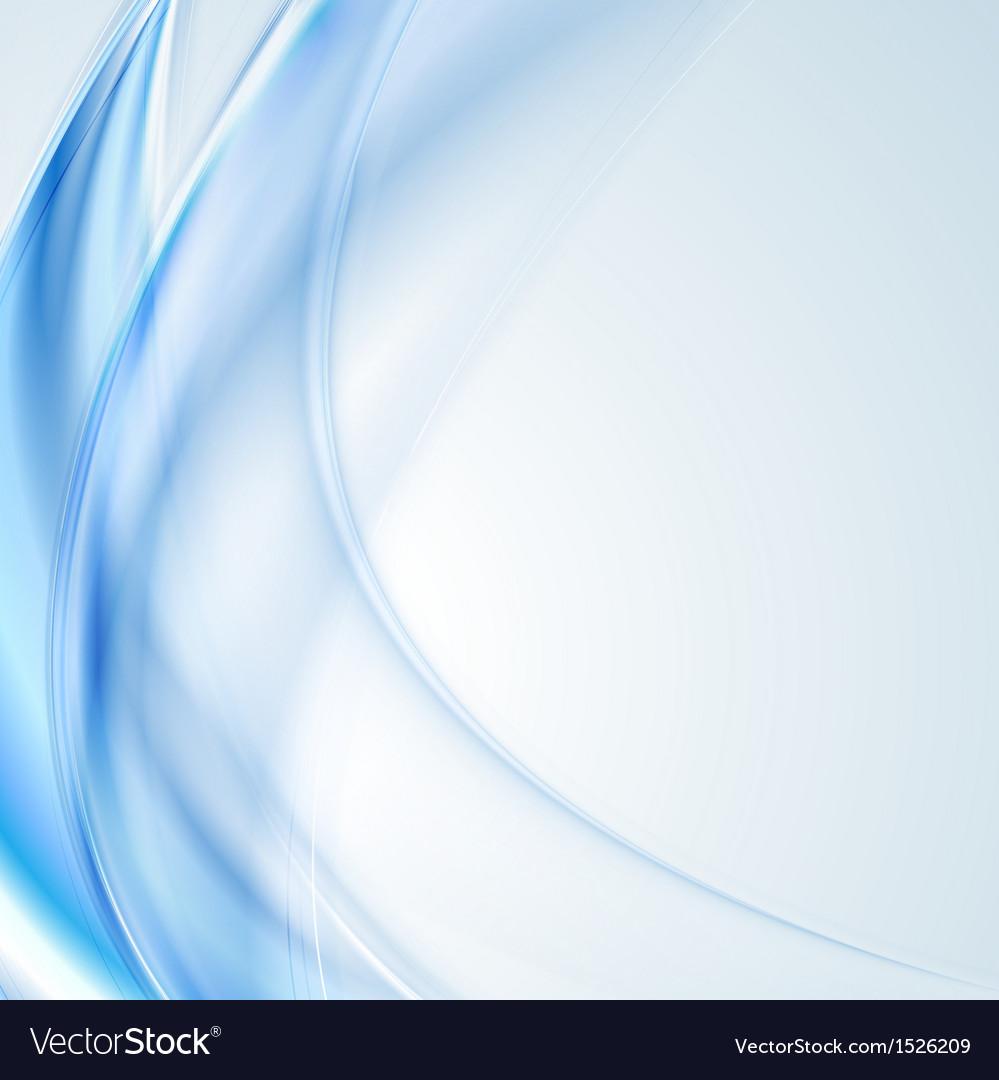 Bright blue wavy design vector | Price: 1 Credit (USD $1)