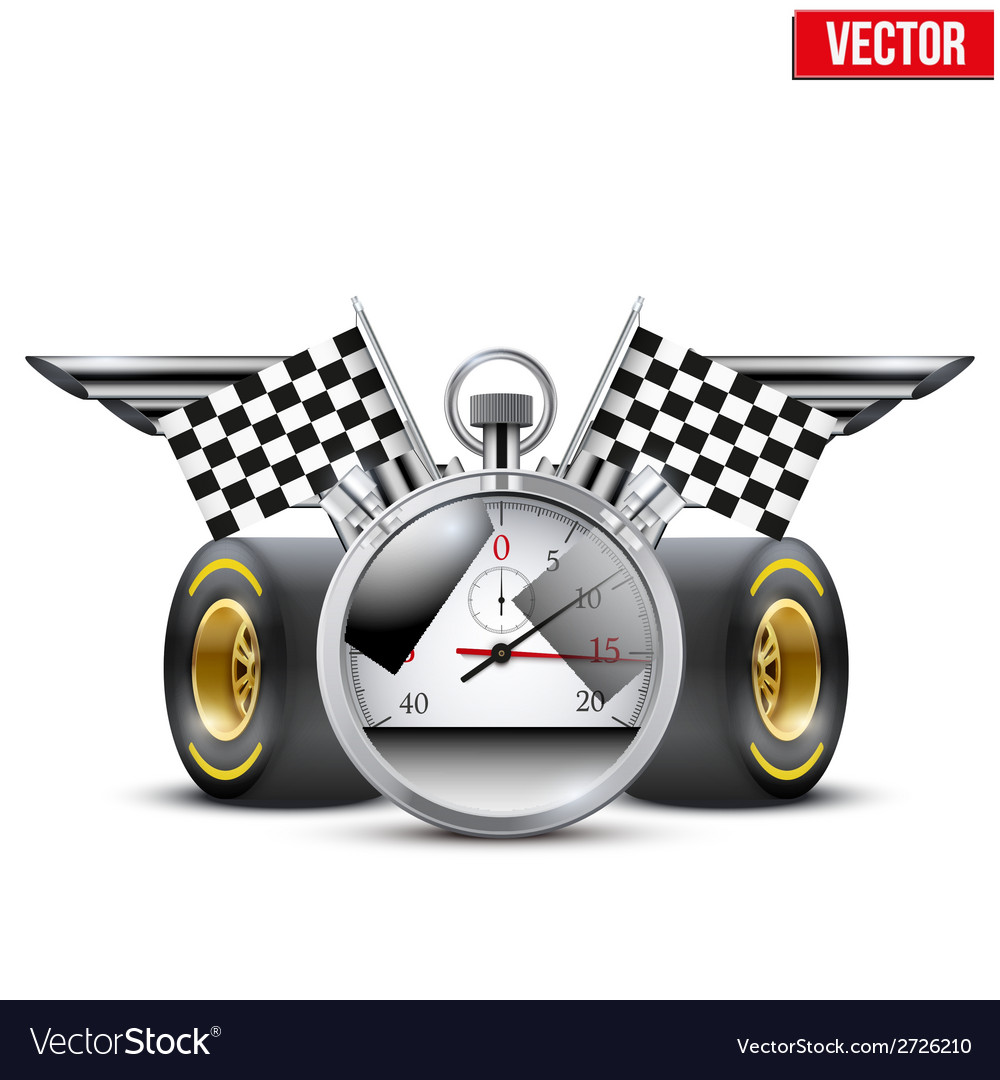 Concept banner car racing and championship vector | Price: 1 Credit (USD $1)
