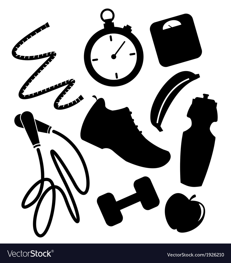 Exercise elements vector | Price: 1 Credit (USD $1)