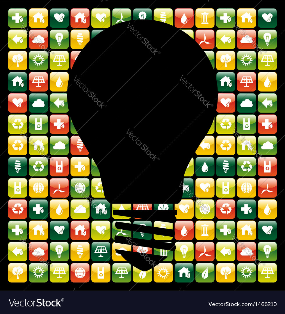 Green mobile phone app ideas vector   Price: 1 Credit (USD $1)