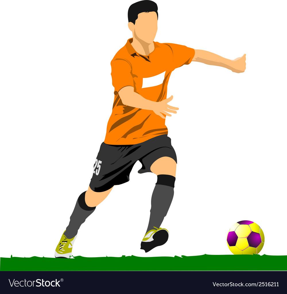 Al 0249 soccer 02 vector | Price: 1 Credit (USD $1)