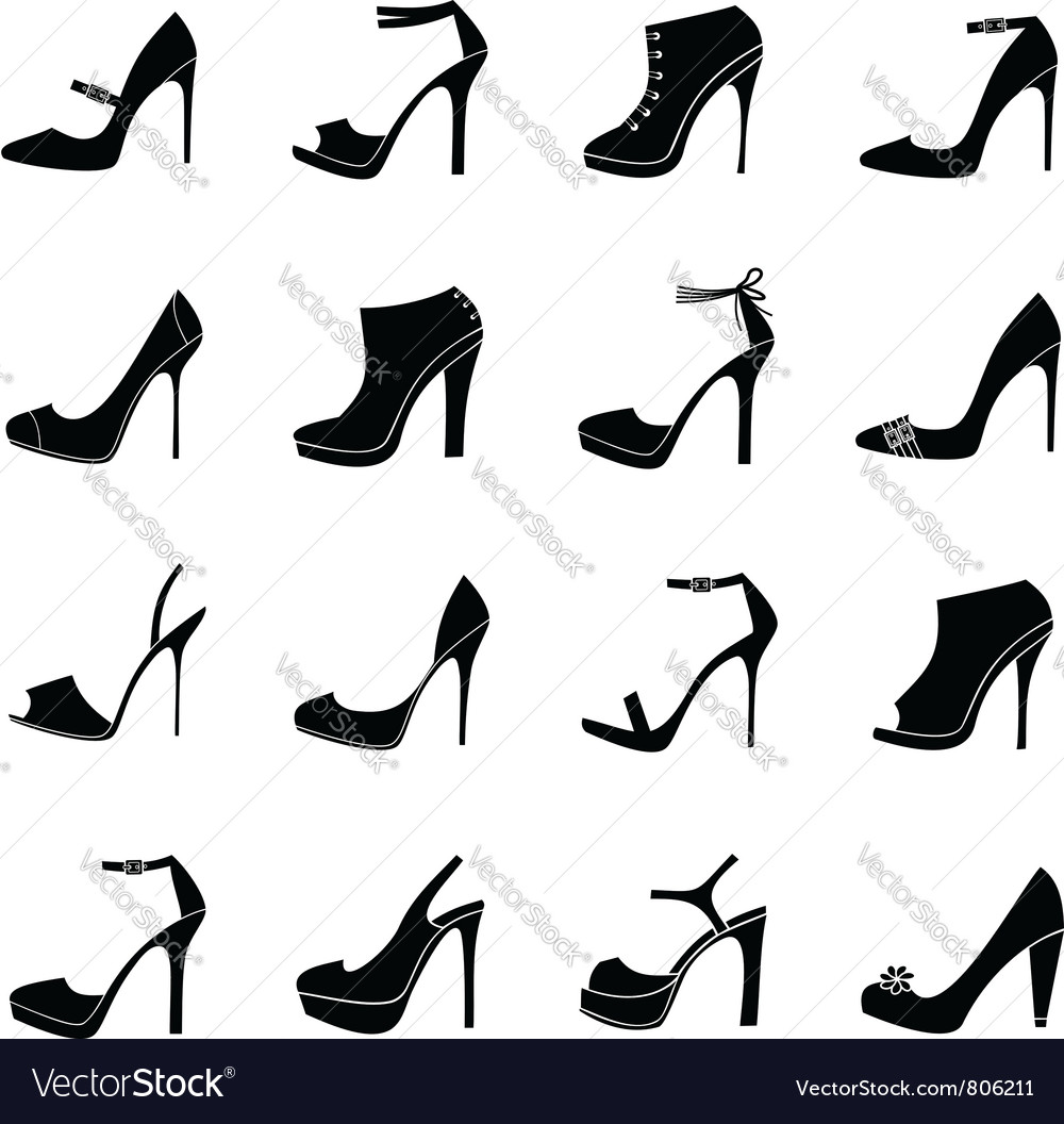 Elegant shoes vector | Price: 1 Credit (USD $1)