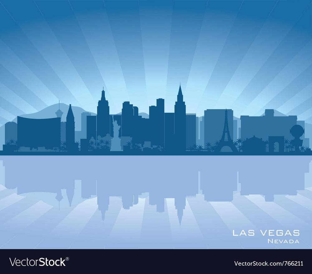 Las vegas nevada skyline vector | Price: 1 Credit (USD $1)