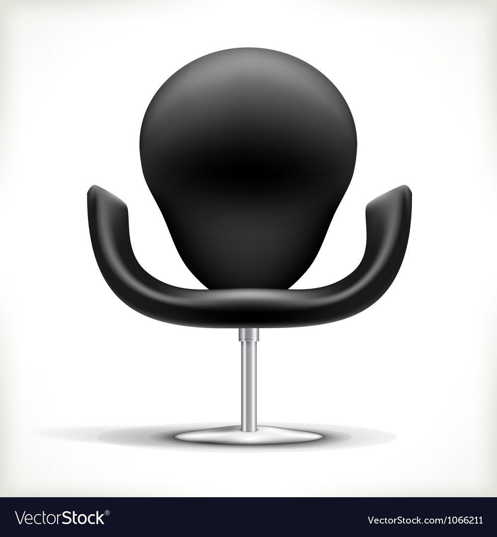 Leather chair vector | Price: 1 Credit (USD $1)