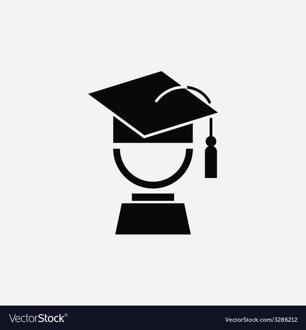 Graduation symbol vector | Price: 1 Credit (USD $1)