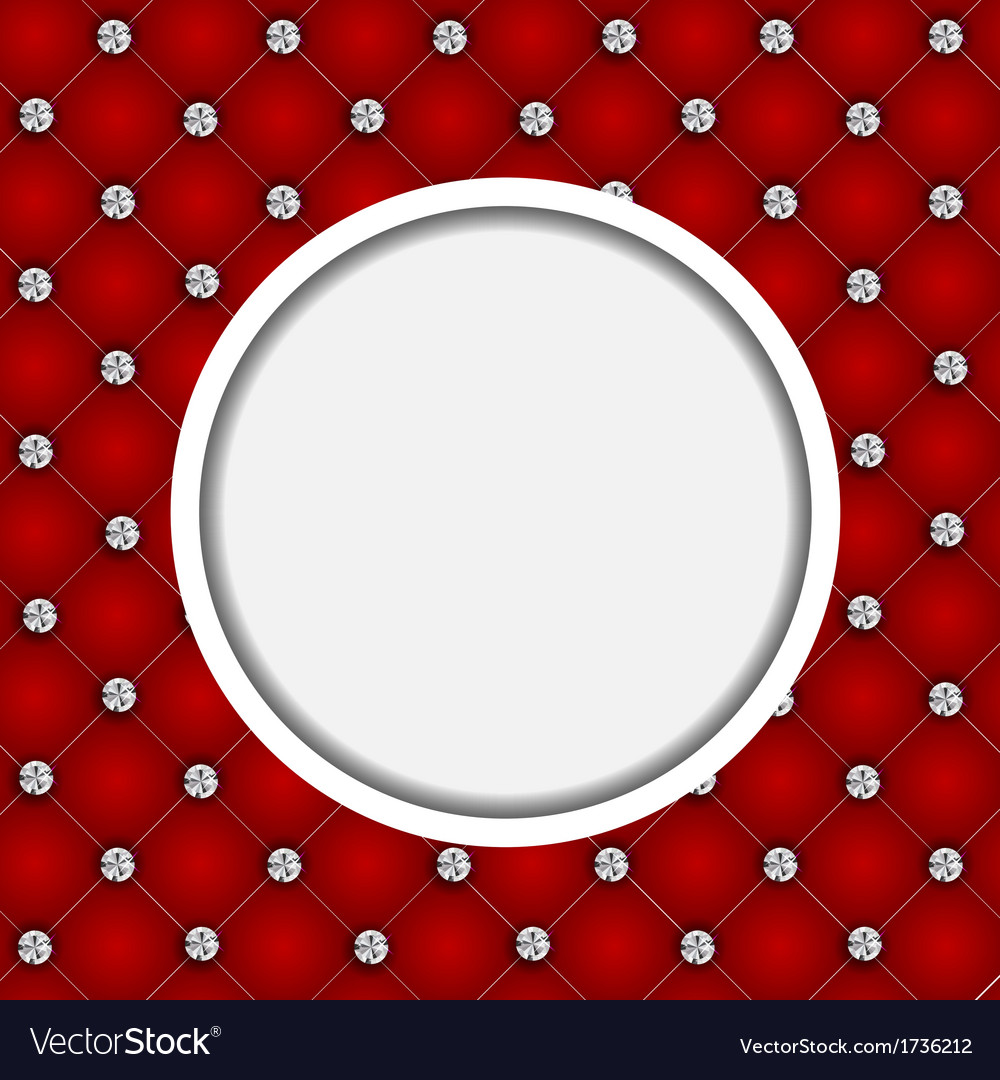 Luxury background with diamond buttons vector | Price: 1 Credit (USD $1)