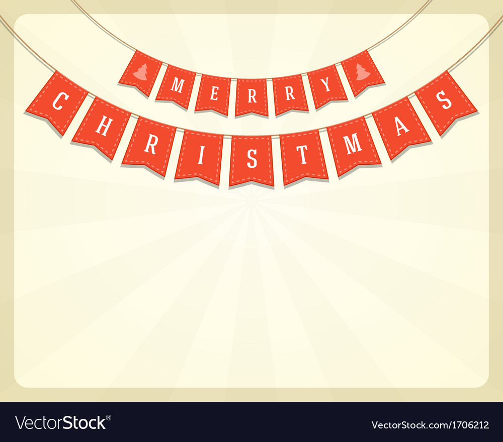 Merry christmas card ornament decoration vector   Price: 1 Credit (USD $1)