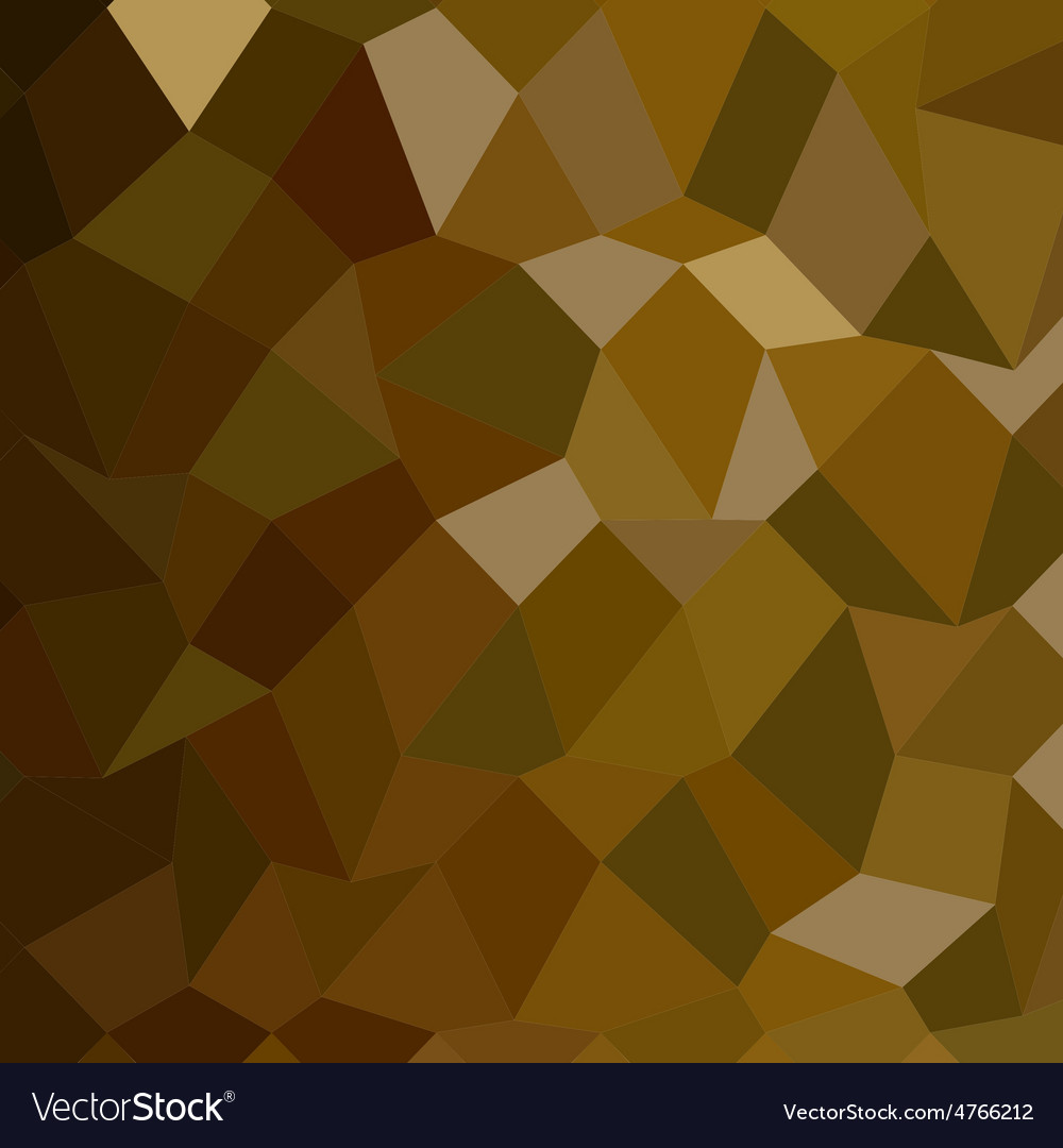 Olive drab abstract low polygon background vector | Price: 1 Credit (USD $1)
