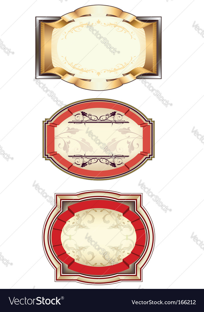 Set of 3 banners vector | Price: 1 Credit (USD $1)