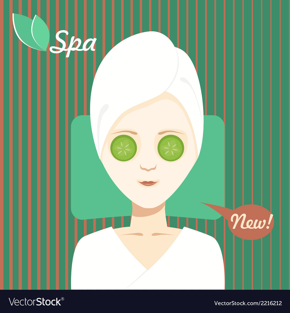 Spa treatments vector | Price: 1 Credit (USD $1)