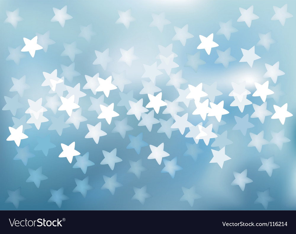 Defocused lights in star shape vector | Price: 1 Credit (USD $1)