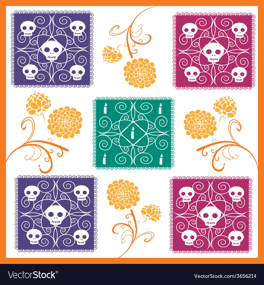Dia-de-muertos-2 vector | Price: 1 Credit (USD $1)