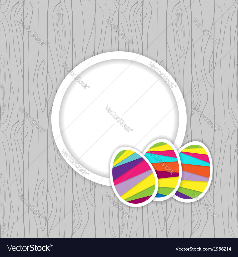 Easter card template vector   Price: 1 Credit (USD $1)