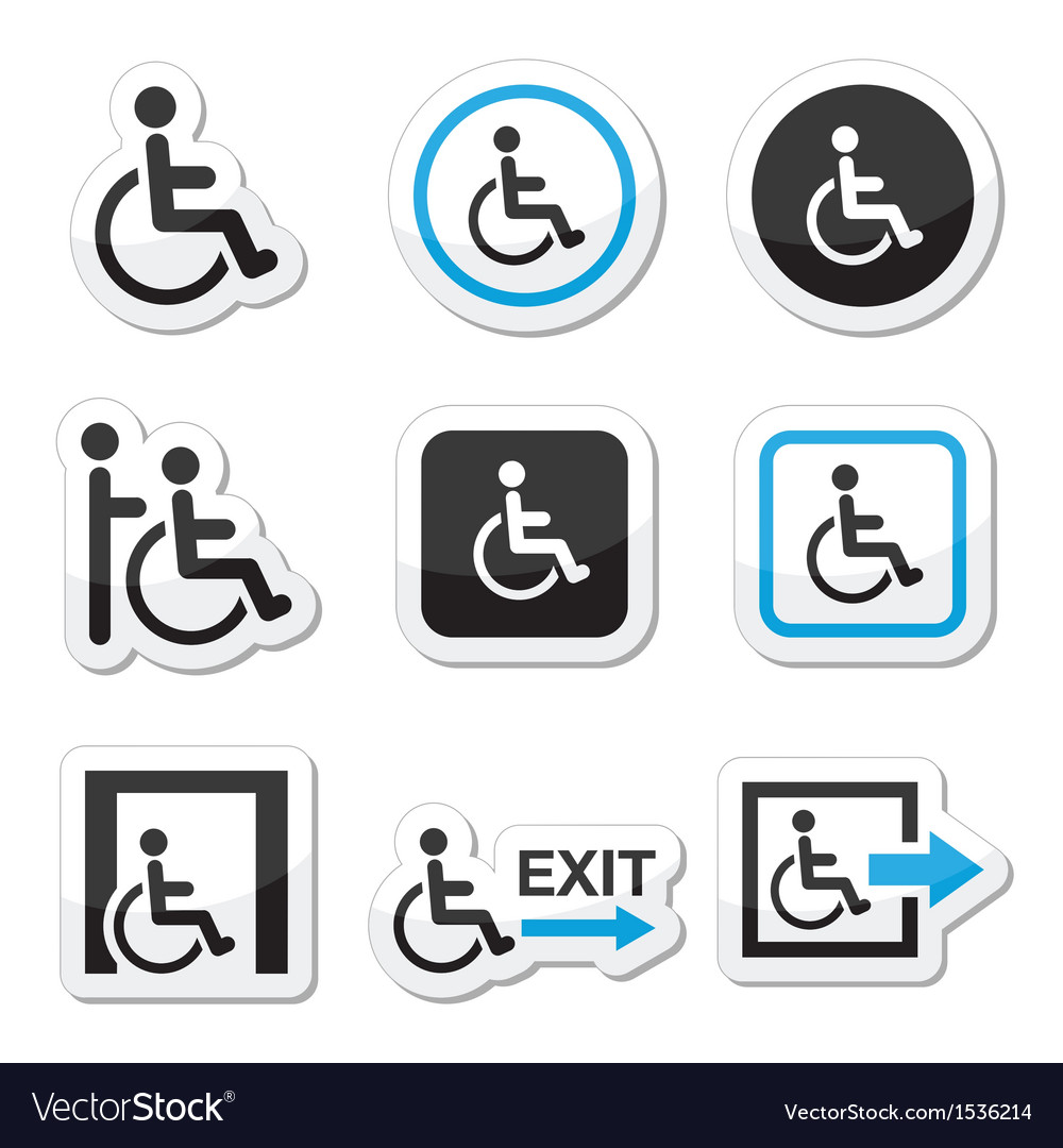 Man on wheelchair vector | Price: 1 Credit (USD $1)