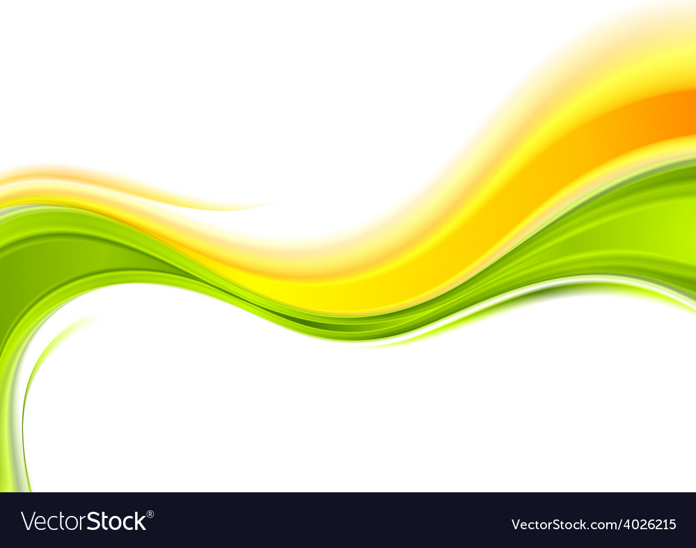 Abstract smooth wavy background vector | Price: 1 Credit (USD $1)
