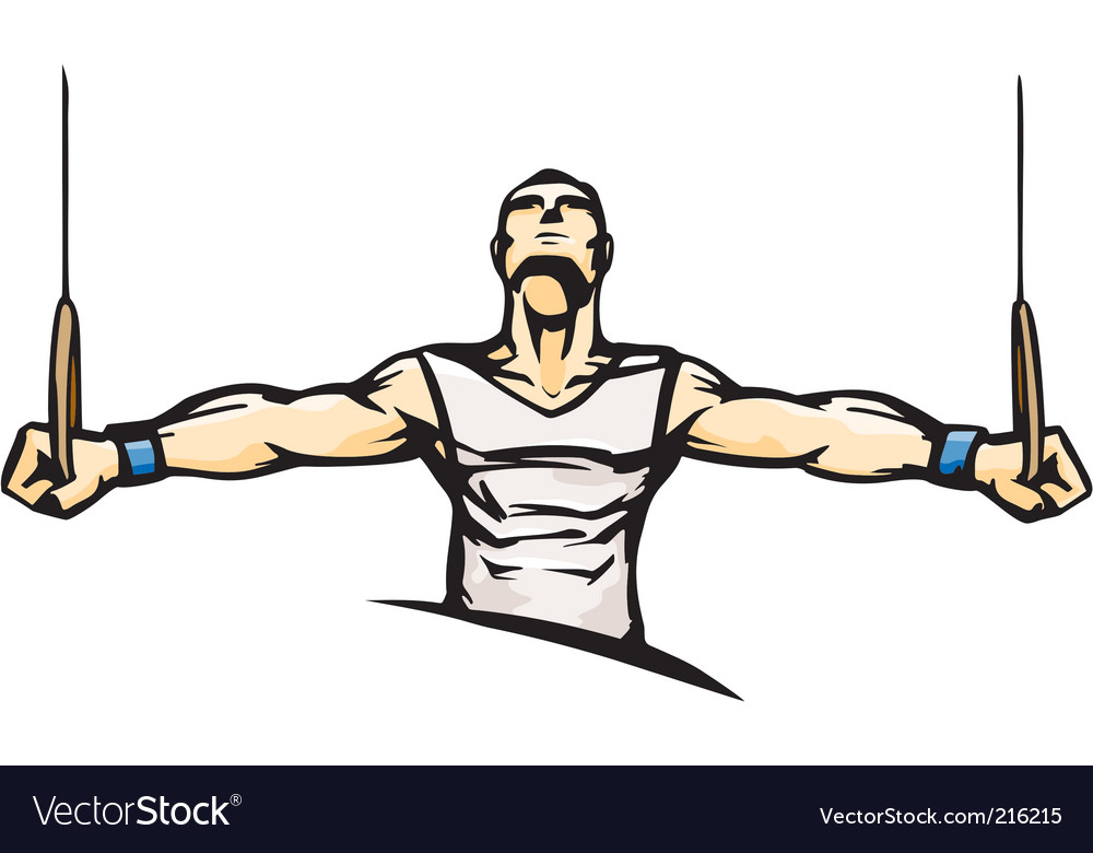 Gymnast vector | Price: 1 Credit (USD $1)
