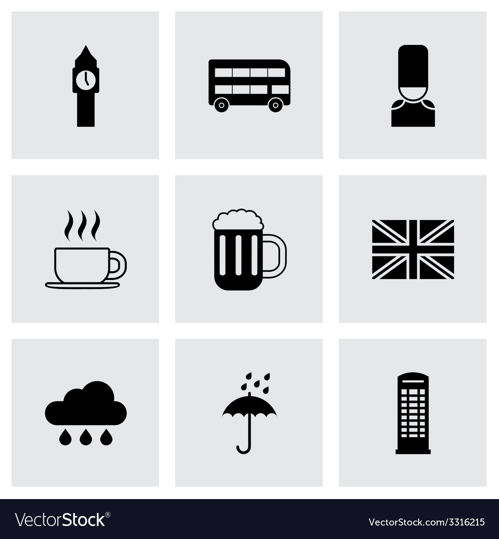 London icon set vector | Price: 1 Credit (USD $1)