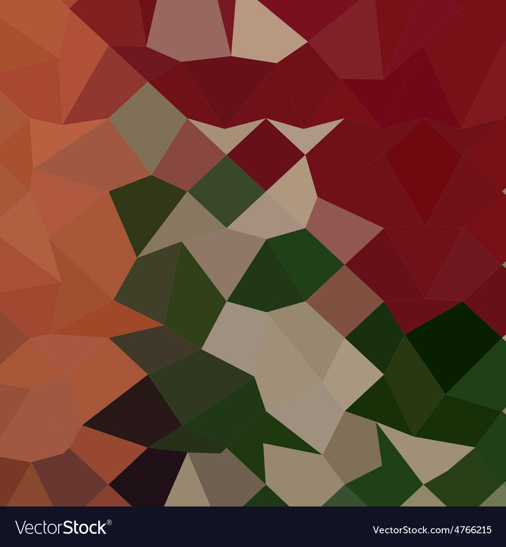 Orange red abstract low polygon background vector | Price: 1 Credit (USD $1)