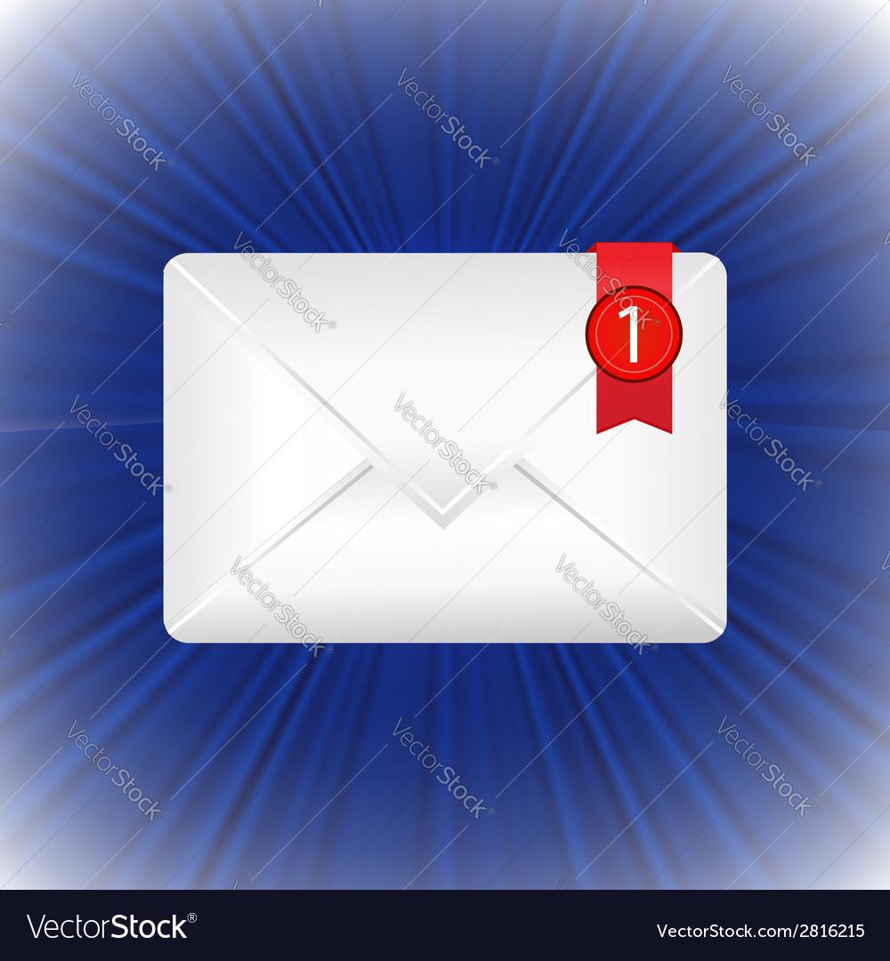 White envelope vector   Price: 1 Credit (USD $1)