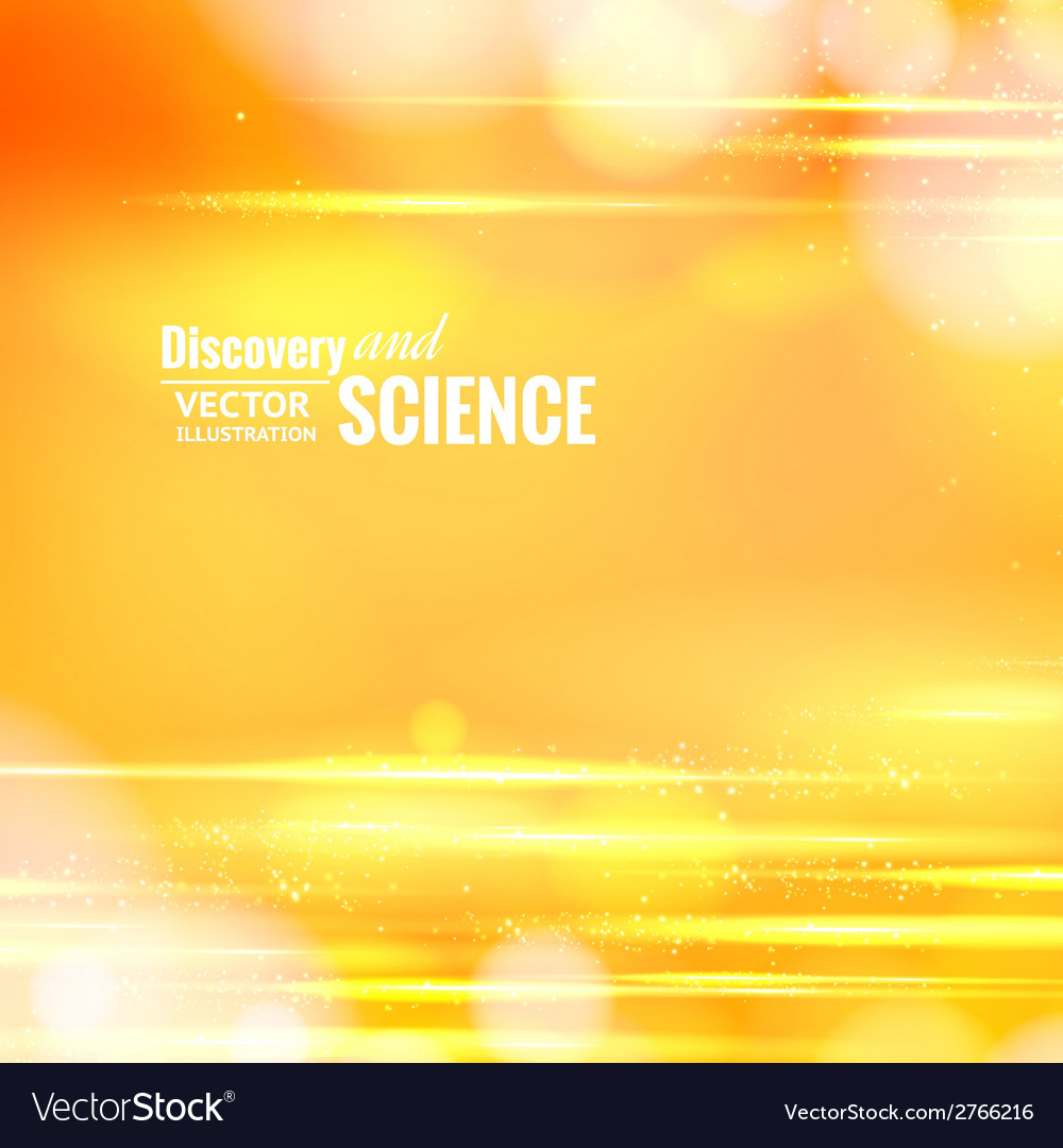 Orange science background vector | Price: 1 Credit (USD $1)