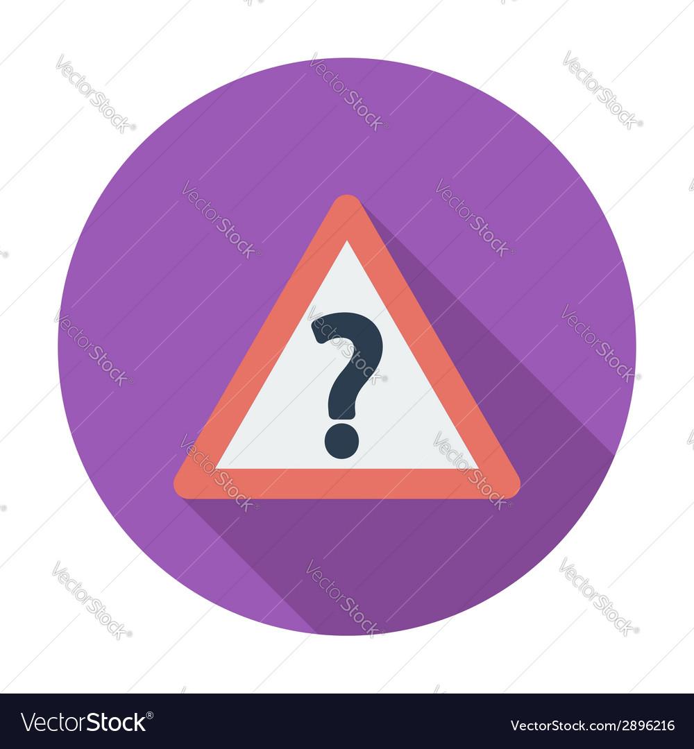 Question single icon vector   Price: 1 Credit (USD $1)