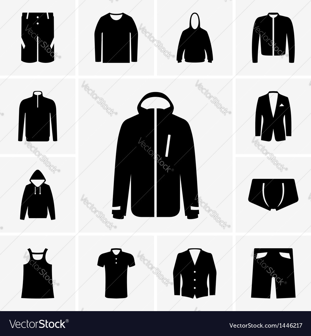Man clothing part 2 vector | Price: 1 Credit (USD $1)