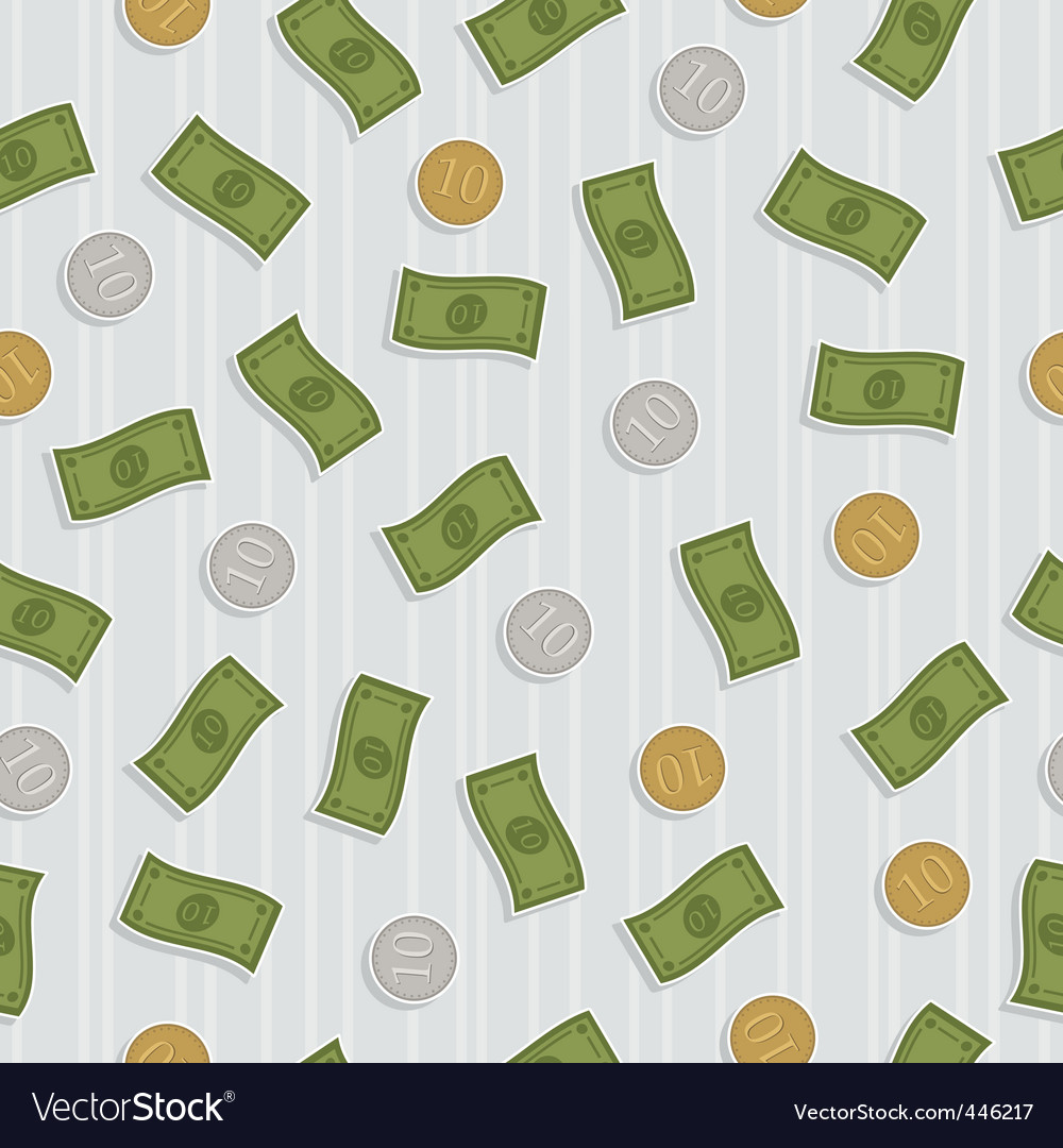 Money pattern vector   Price: 1 Credit (USD $1)