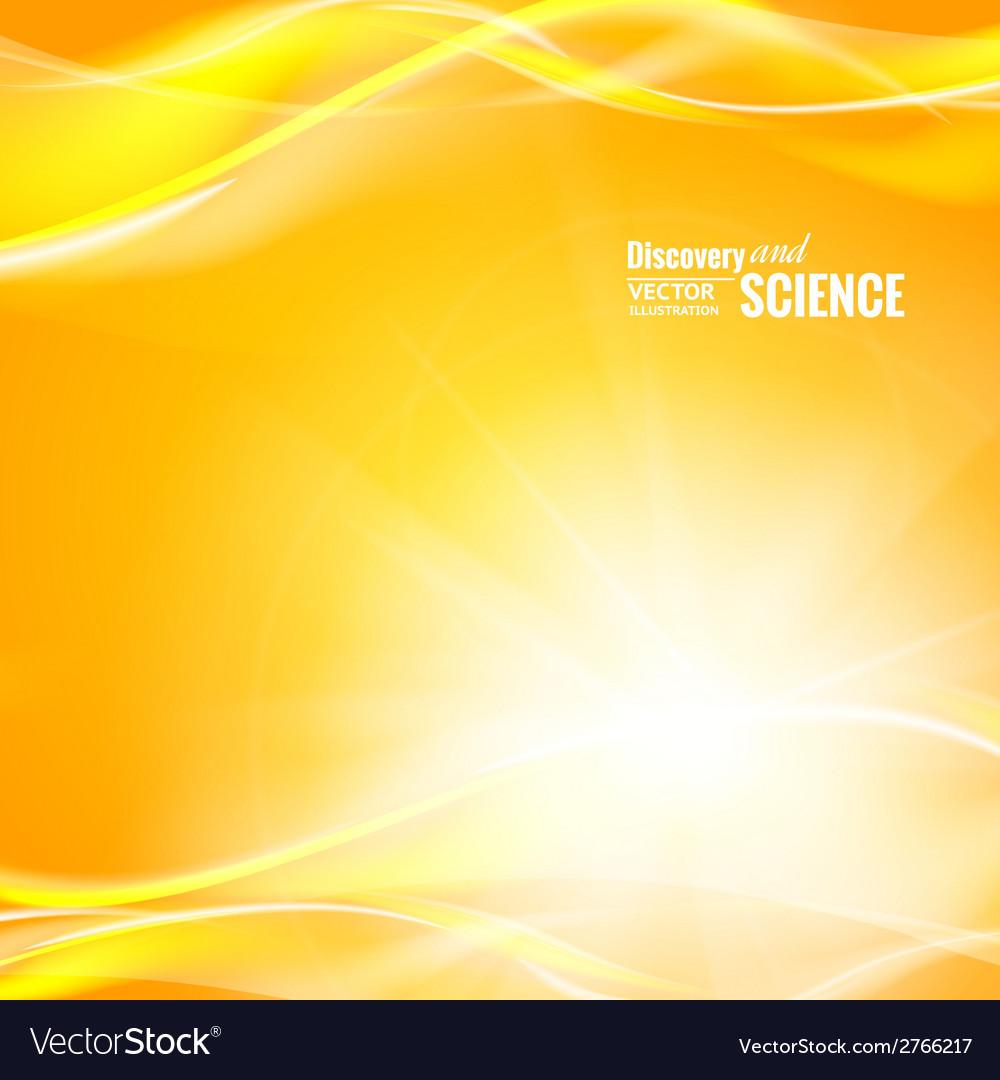 Orange science background vector | Price: 1 Credit (USD $1)