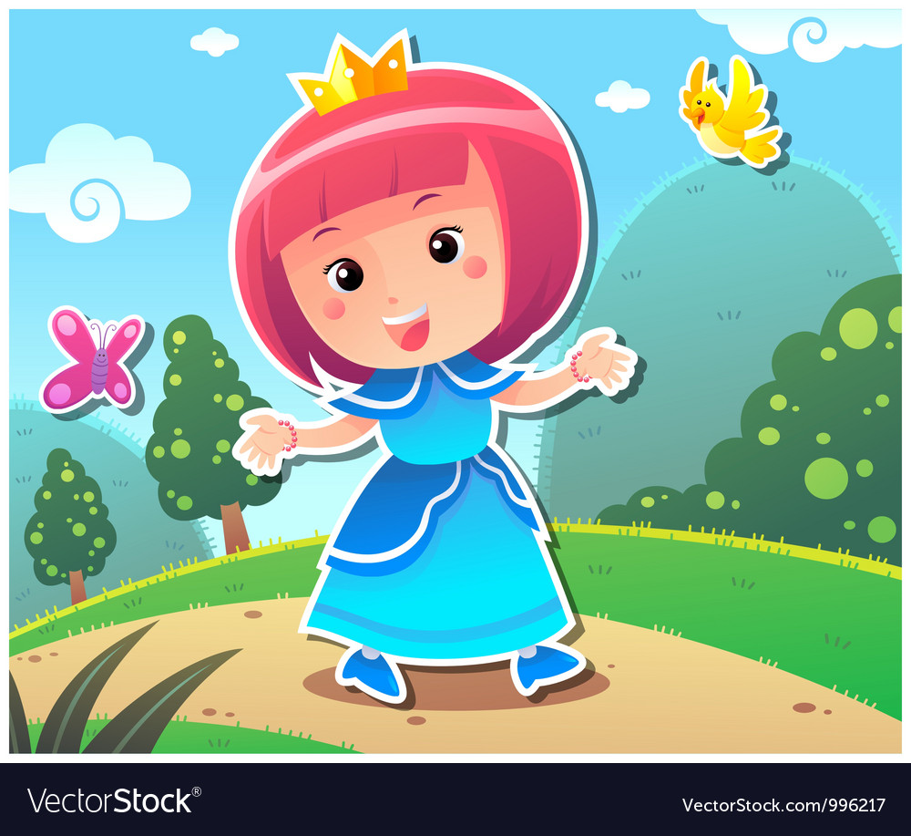 Princess lily vector | Price: 3 Credit (USD $3)