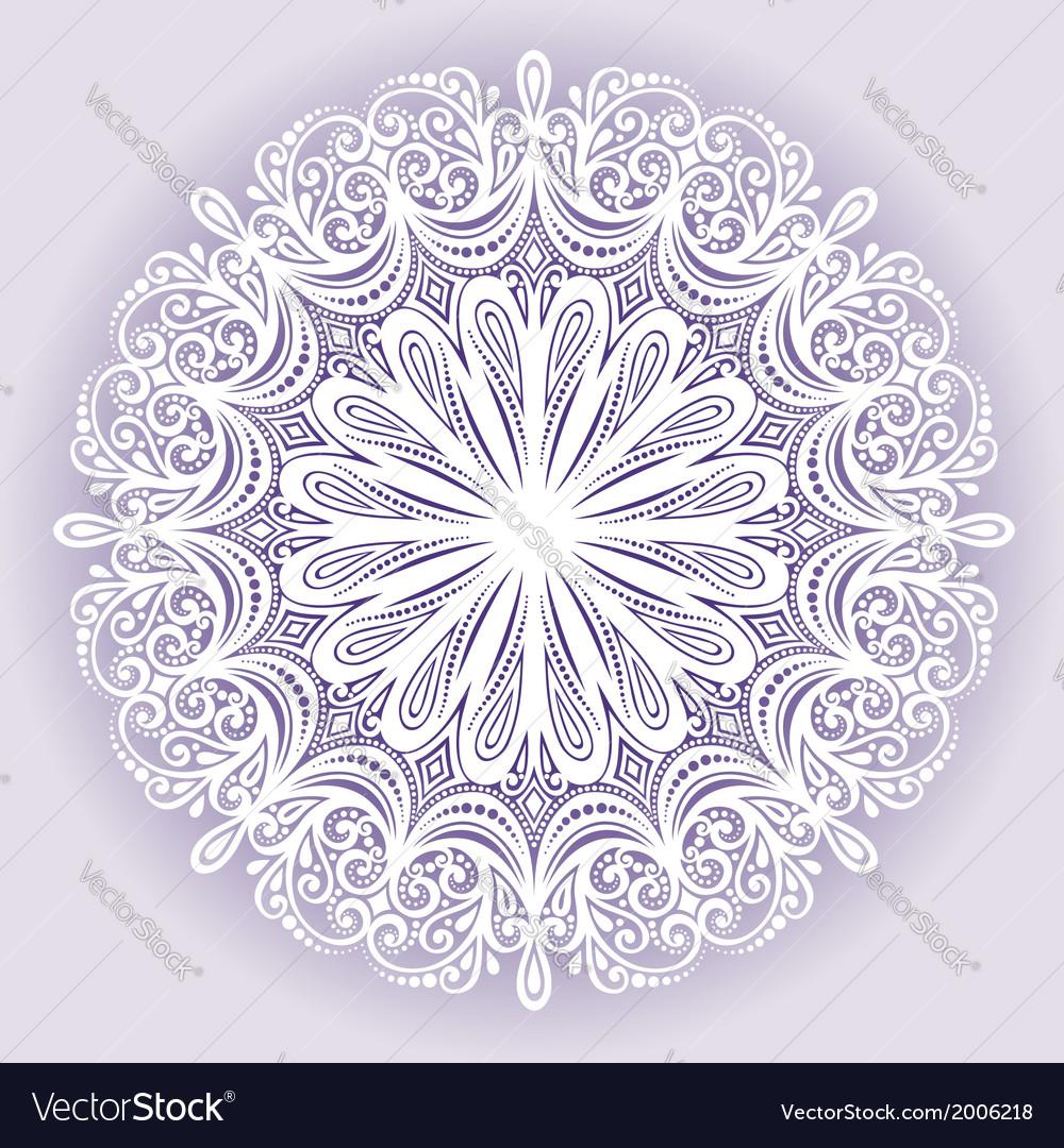 Beautiful deco mandala vector | Price: 1 Credit (USD $1)