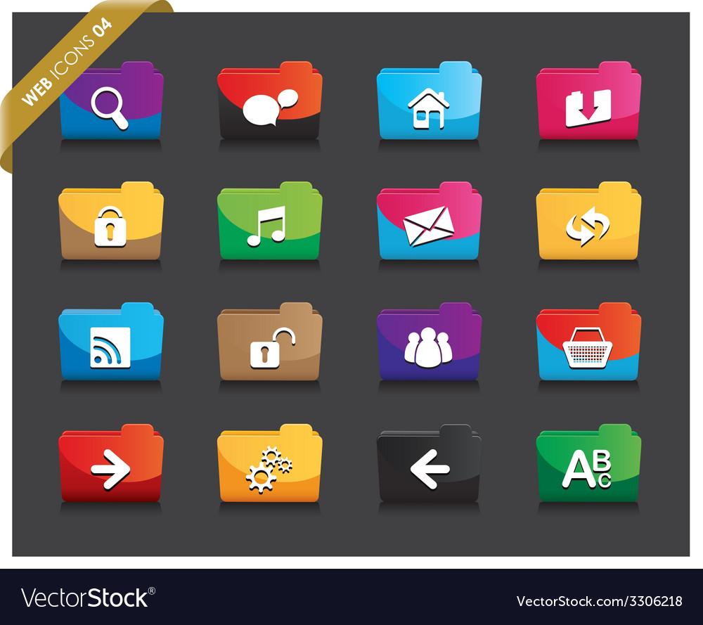 Web folders vector   Price: 1 Credit (USD $1)