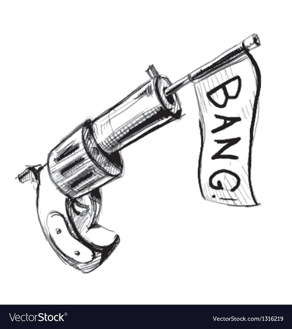 Revolver icon with checkbox vector | Price: 3 Credit (USD $3)