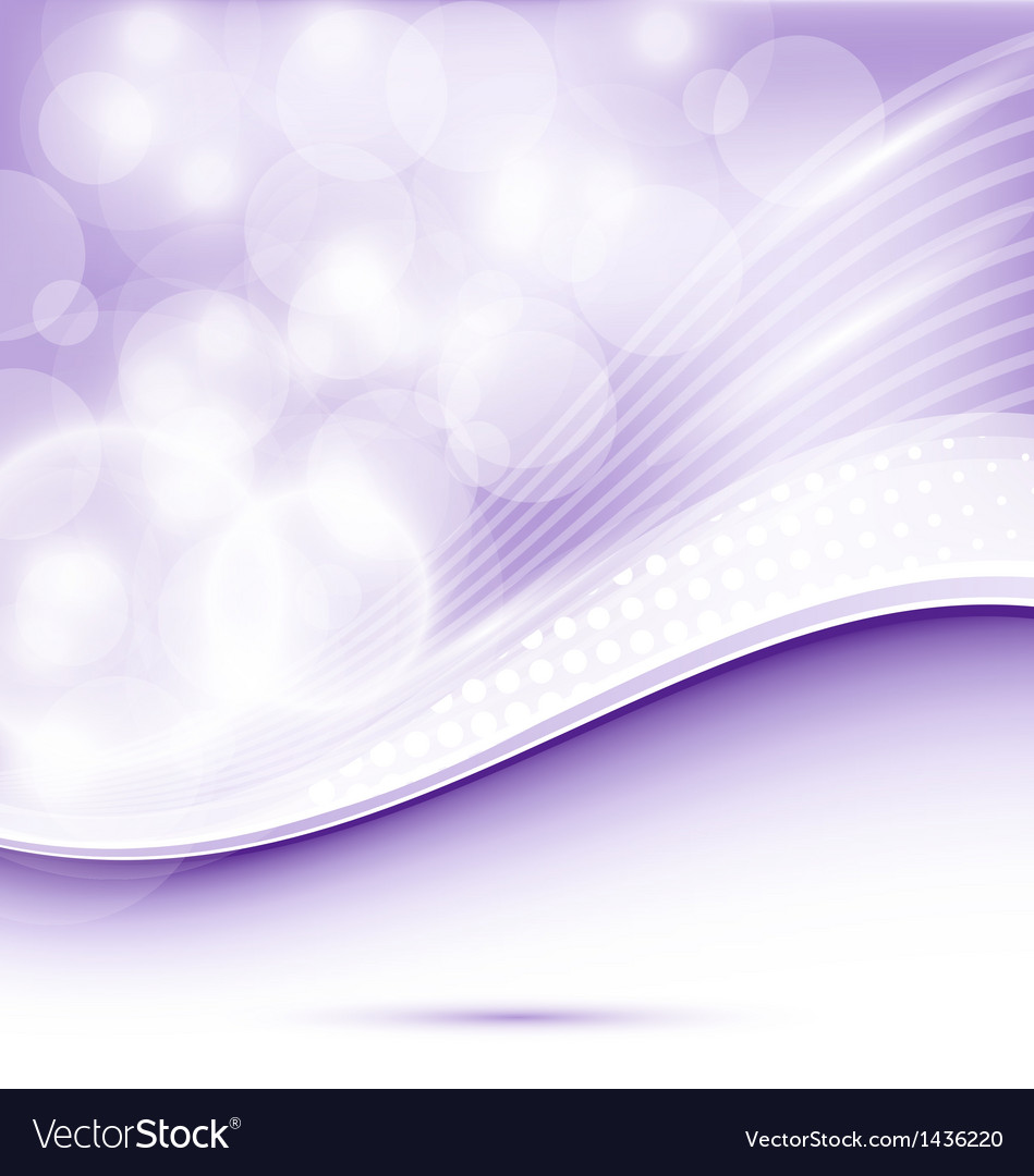 Abstract wavy purple background for design vector | Price: 1 Credit (USD $1)