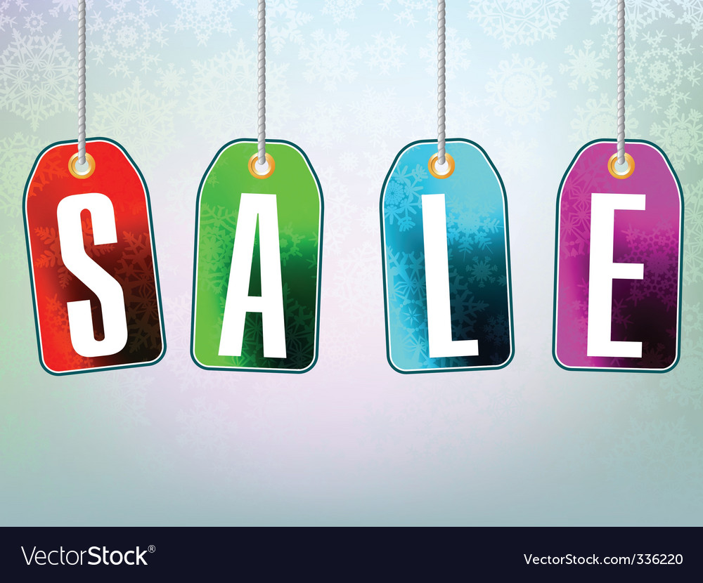 Colorful sale advertisement over background vector | Price: 1 Credit (USD $1)