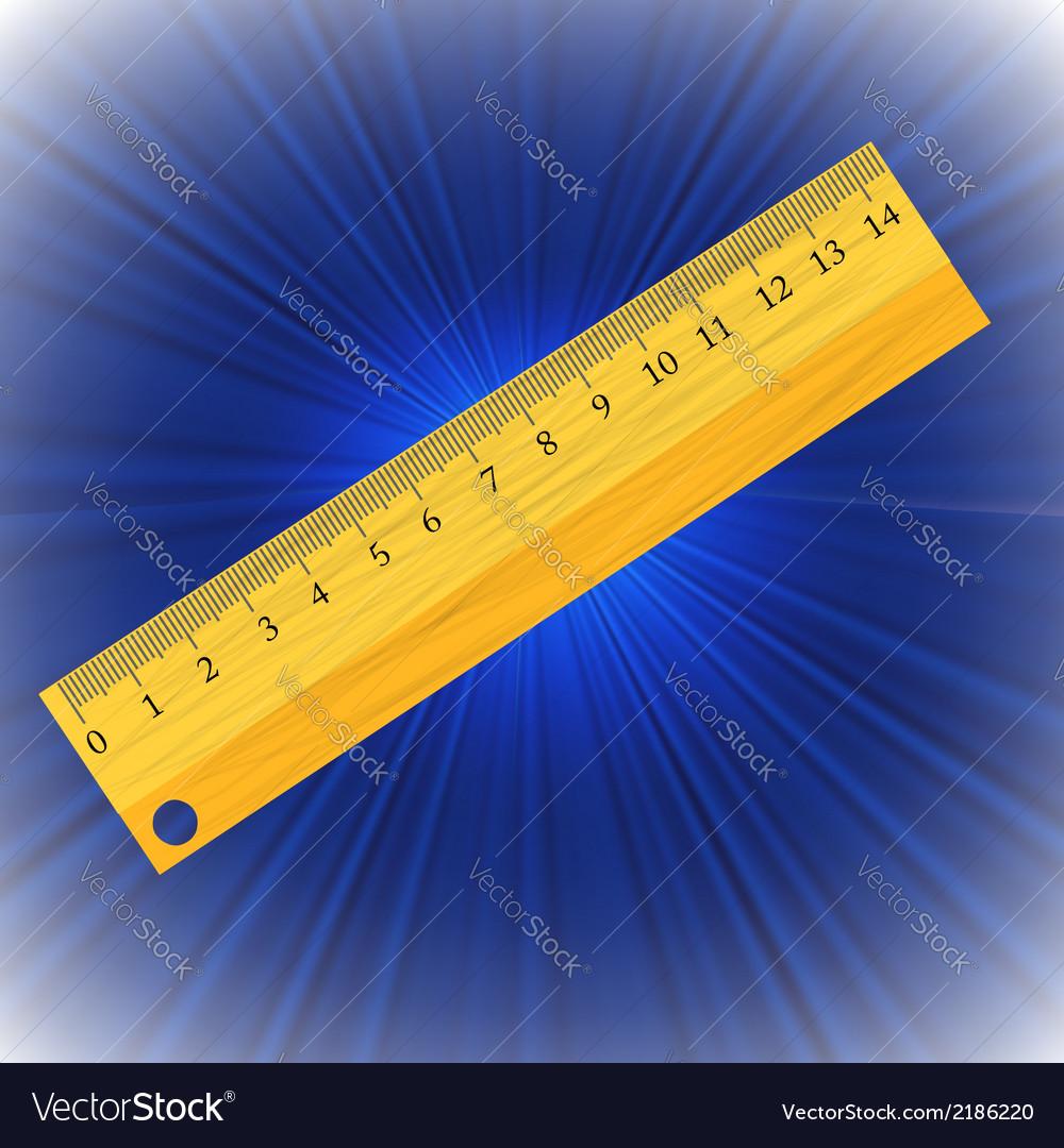 Ruler vector | Price: 1 Credit (USD $1)