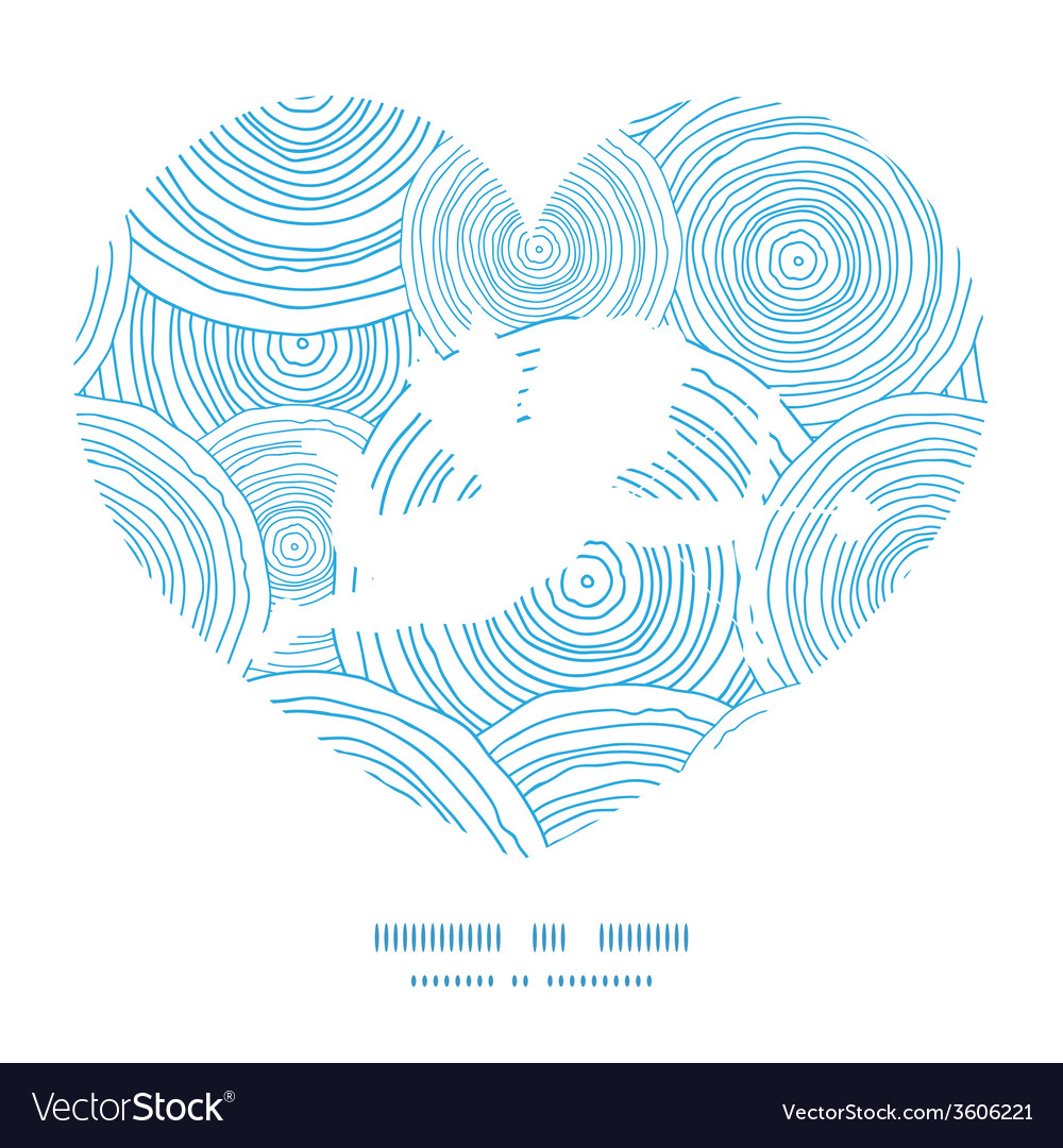 Doodle circle water texture shooting cupid vector | Price: 1 Credit (USD $1)