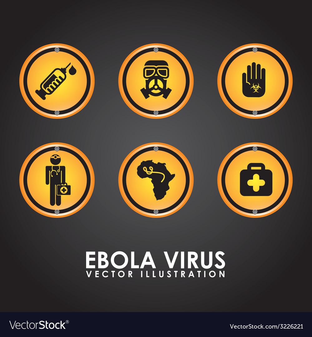 Ebola design vector   Price: 1 Credit (USD $1)