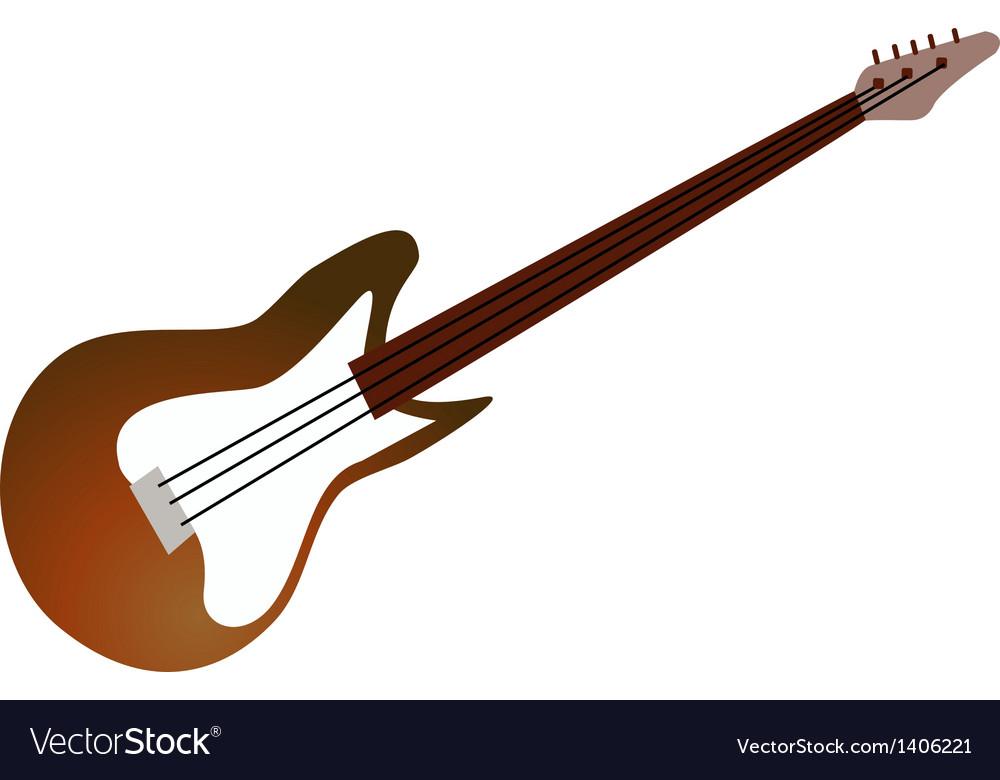 Icon guitar vector | Price: 1 Credit (USD $1)