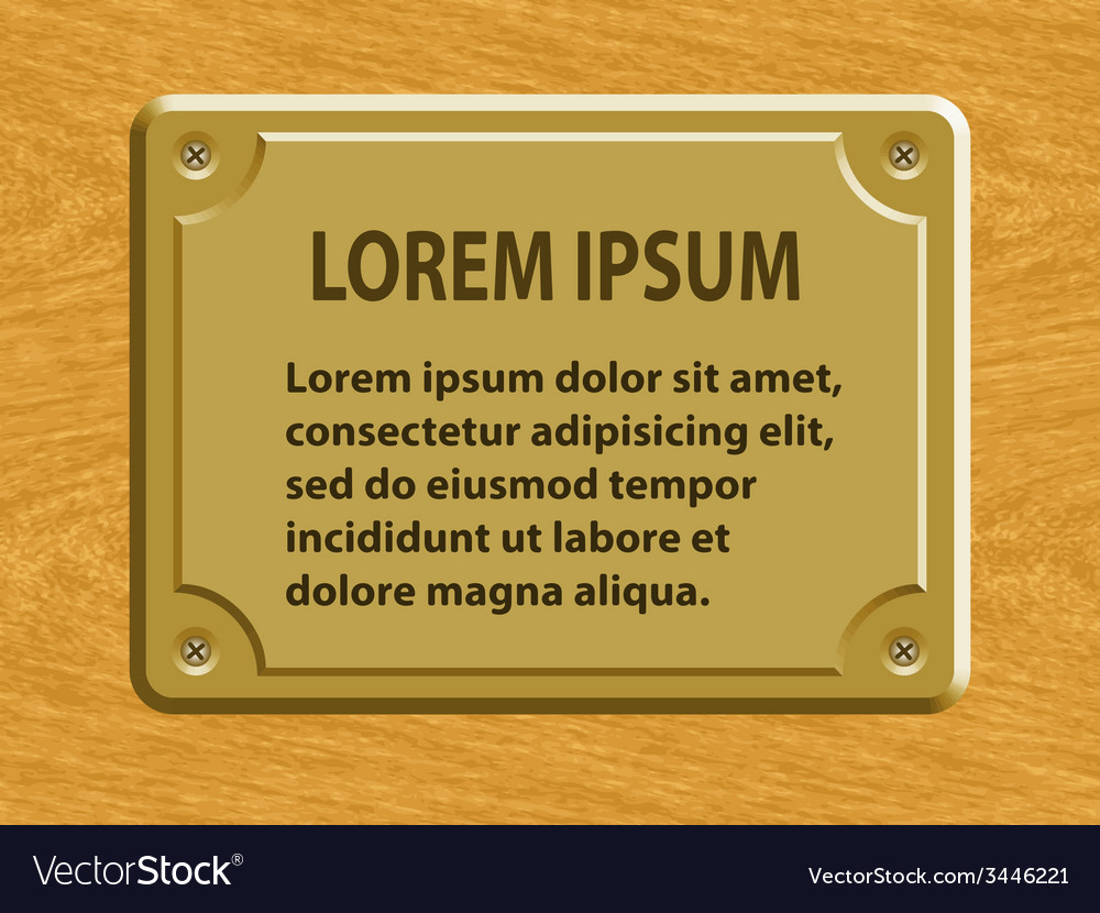 Plate on wood vector   Price: 1 Credit (USD $1)