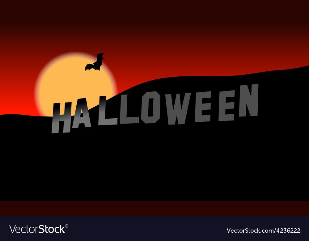 Halloween hills vector   Price: 3 Credit (USD $3)
