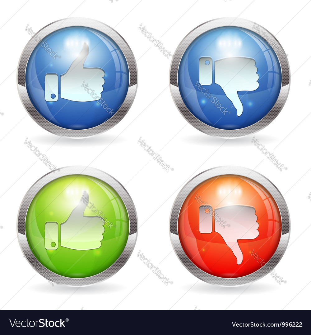 Like unlike button vector | Price: 1 Credit (USD $1)