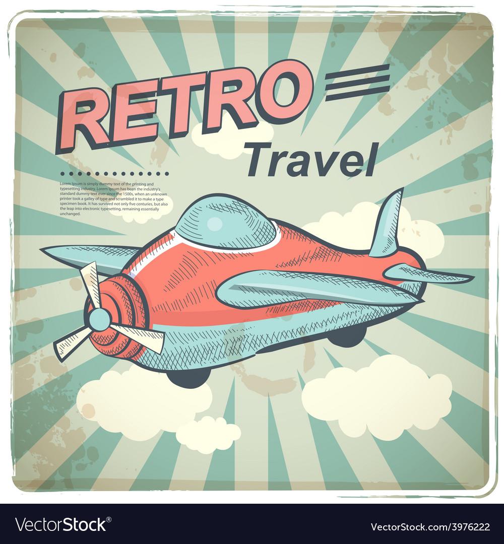 Retro travel vector | Price: 1 Credit (USD $1)