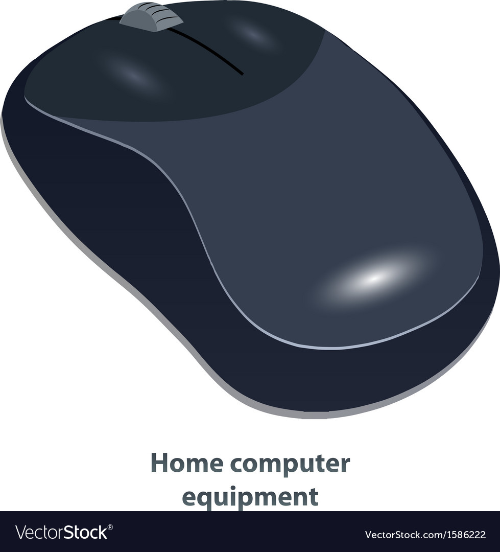 Wireless computer mouse vector | Price: 1 Credit (USD $1)
