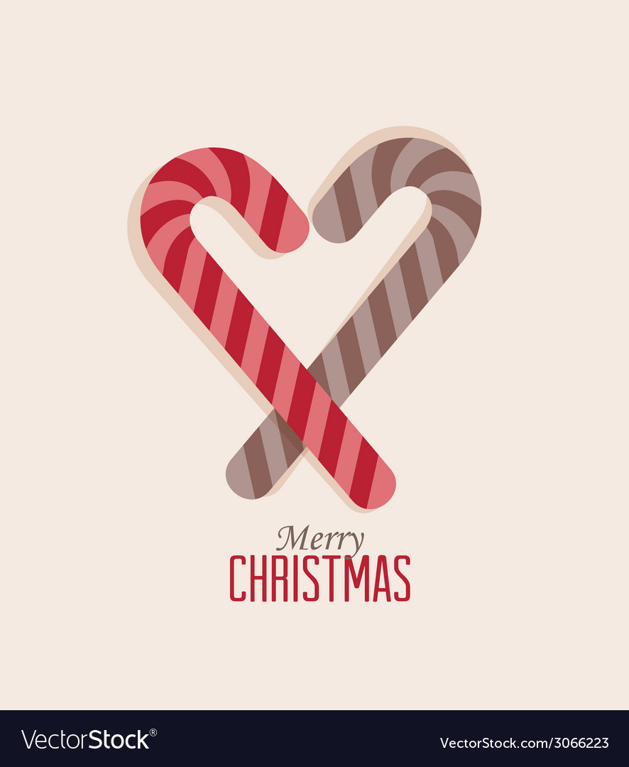 Christmas candy vector | Price: 1 Credit (USD $1)