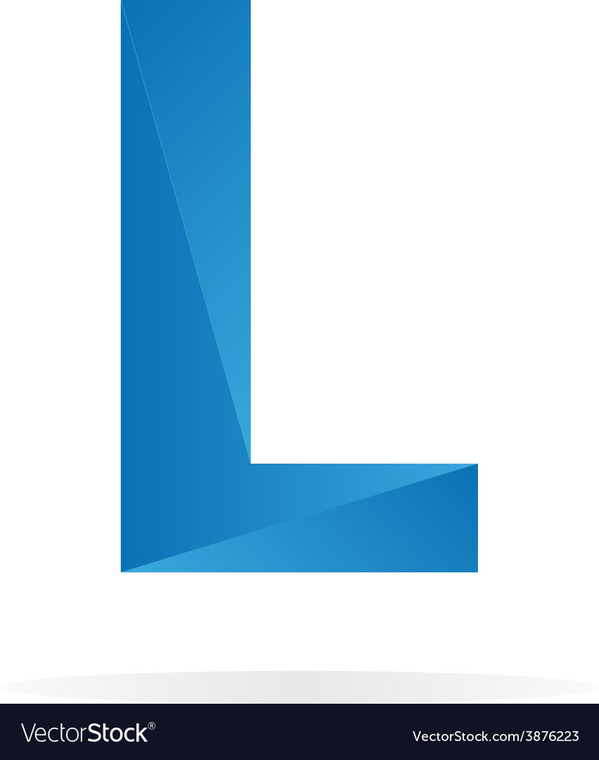 Logo l letter for company design template vector | Price: 1 Credit (USD $1)