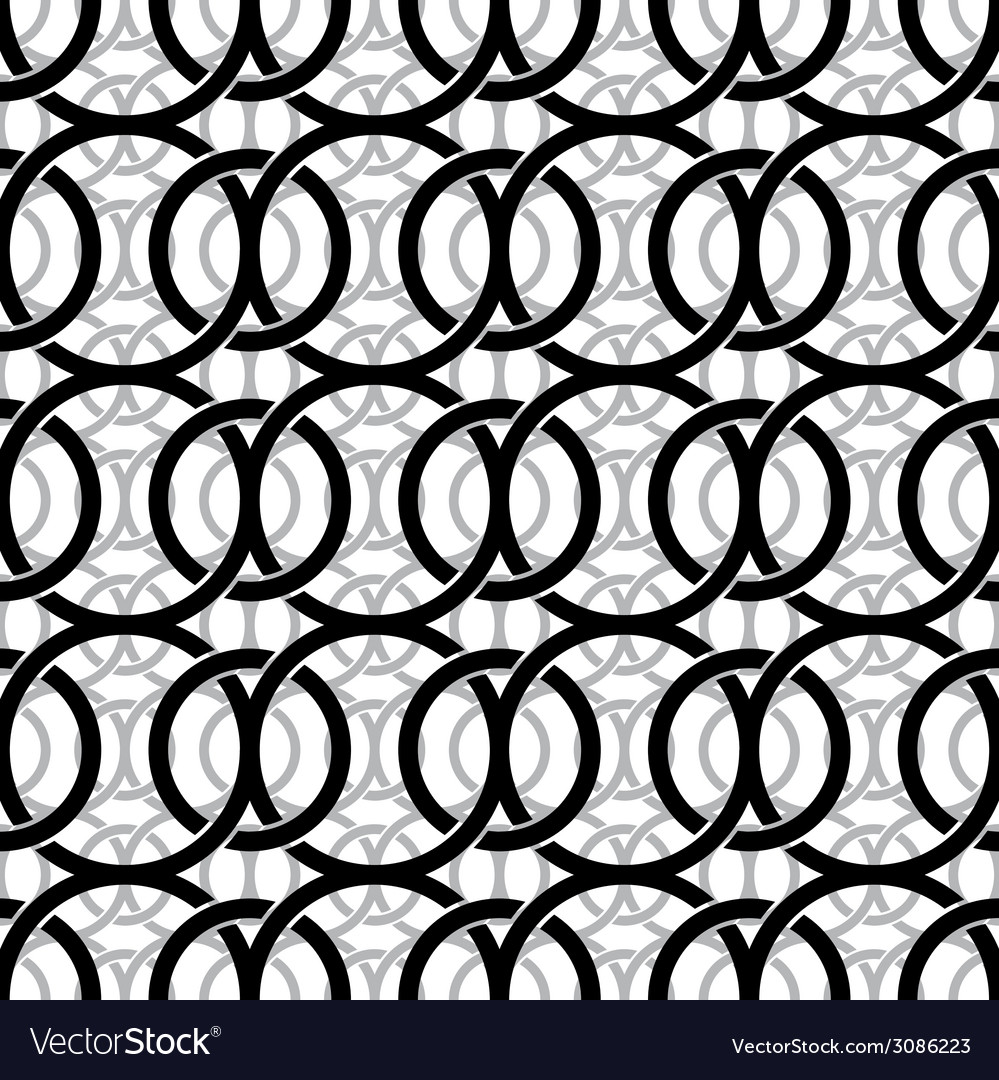 Monochrome vintage style netting seamless pattern vector | Price: 1 Credit (USD $1)