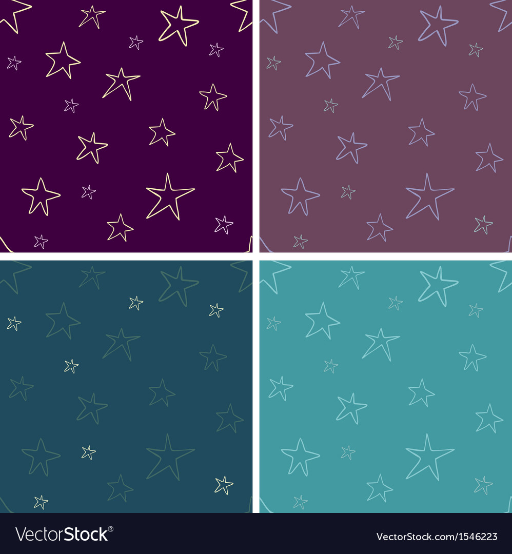 Starry seamless vector | Price: 1 Credit (USD $1)