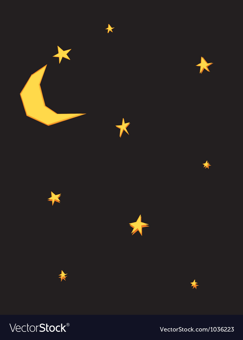 Starsandmoon vector | Price: 1 Credit (USD $1)