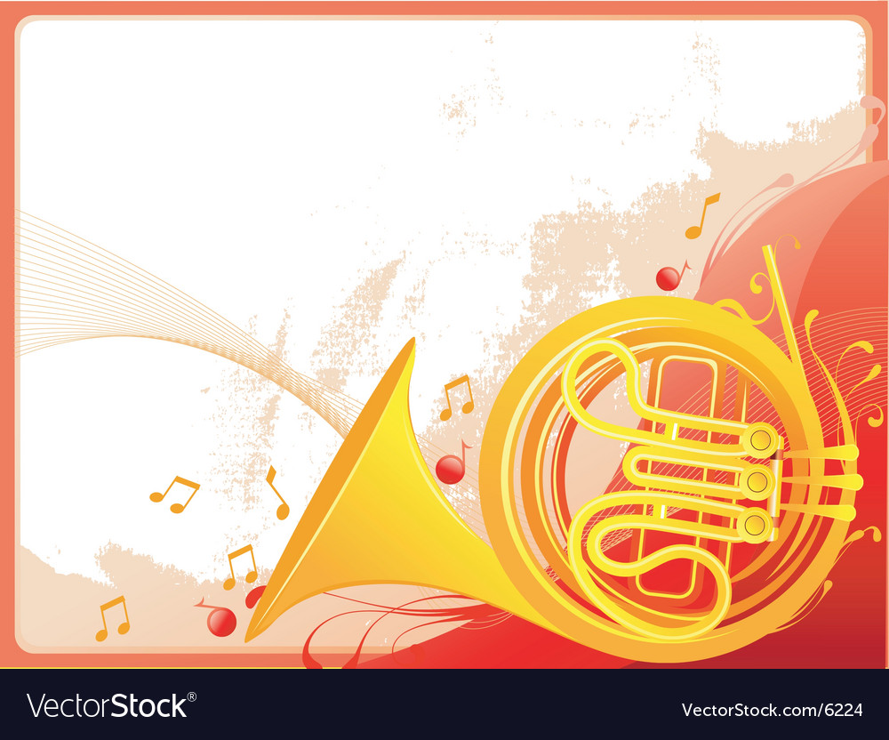 Jazz horn graphic vector | Price: 3 Credit (USD $3)