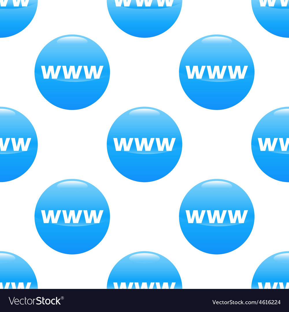 Www sign pattern vector | Price: 1 Credit (USD $1)